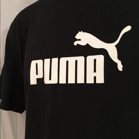 75946df31c9 Puma Shirts | Mens Logo Shirt | Poshmark